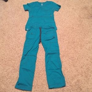 Teal XS Women's Scrubs